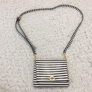 black cross body from charming Charlie's